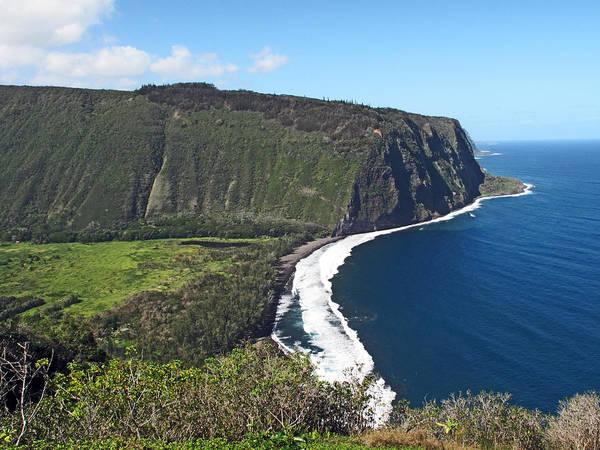 Wall Art - Photograph - Waipio Valley On The Big Island Of Hawaii by Brendan Reals