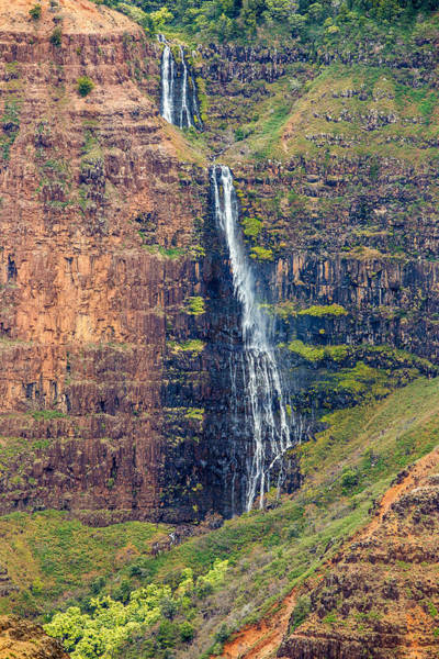 Photograph - Waipoo Falls Of Waimea Canyon by Pierre Leclerc Photography