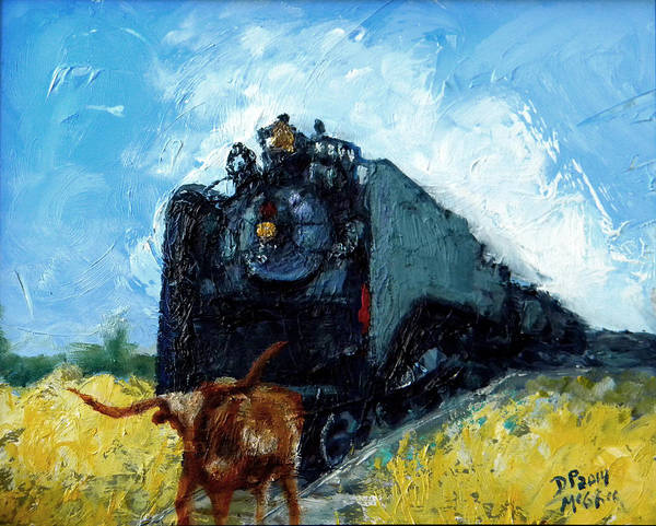 Painting - Waitin' by David McGhee