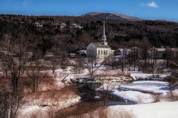 Photograph - Waiting For A Vermont Spring by Jeff Folger
