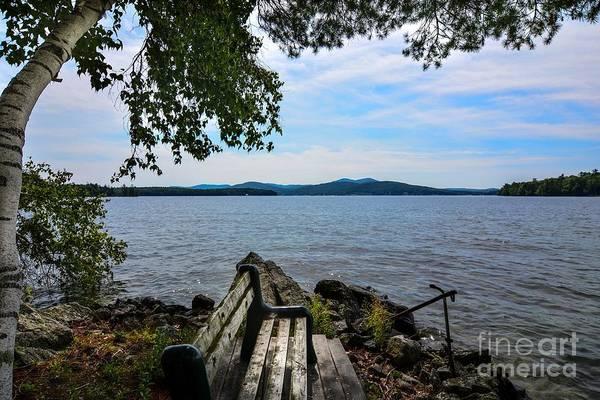 Lake Winnipesaukee Wall Art - Photograph - Waiting For Me by Mim White