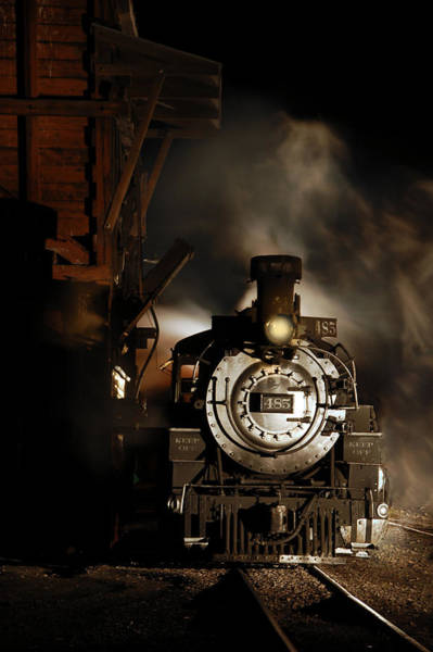 Wall Art - Photograph - Waiting For More Coal by Ken Smith