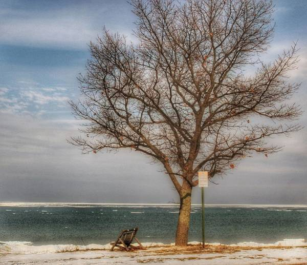 Photograph - 9002 - Waiting For Spring In Caseville by Sheryl Sutter