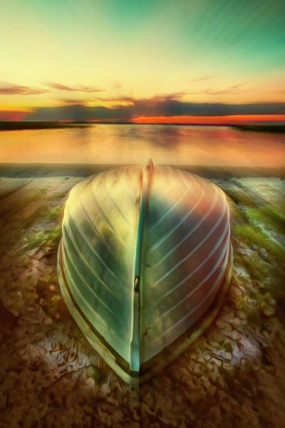 Photograph - Waiting For Sunrise Dreamscape by Debra and Dave Vanderlaan