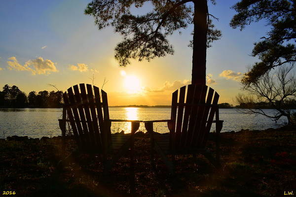 Photograph - Waiting For Sunrise by Lisa Wooten