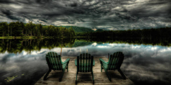 Photograph - Waiting For Sunset by David Patterson