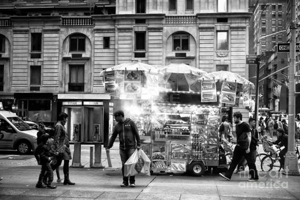 Photograph - Waiting For The Family In Nyc by John Rizzuto
