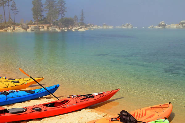 South Lake Tahoe Photograph - Waiting For The Fog To Lift by Donna Kennedy