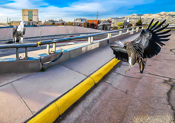 Downtown El Paso Photograph - Waiting For The Remains by Ken Blystone