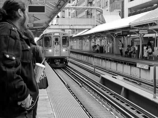 Photograph - Waiting For The Train 3 by Rosanne Licciardi