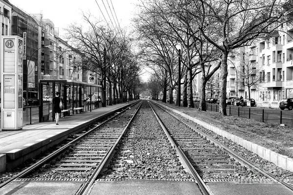 Wall Art - Photograph - Waiting For The Train In Berlin by John Rizzuto