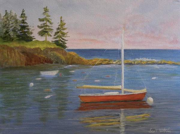 Painting - Waiting For The Wind by Scott W White