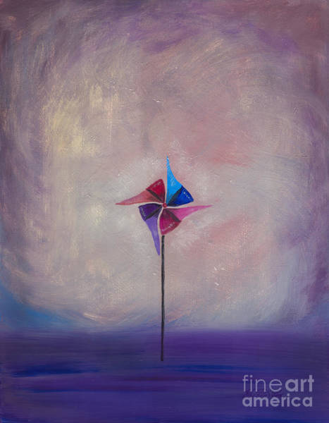 Painting - Waiting For Wind by Kristen Fox