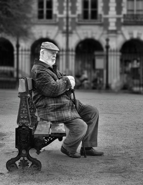 Photograph - Waiting In Plaid by Jessica Levant
