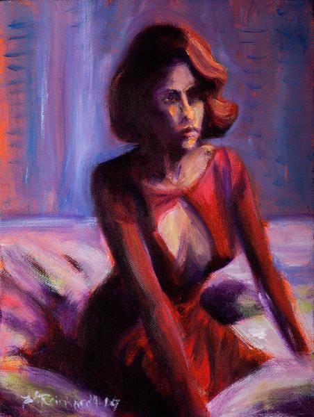 Painting - Waiting by Jason Reinhardt