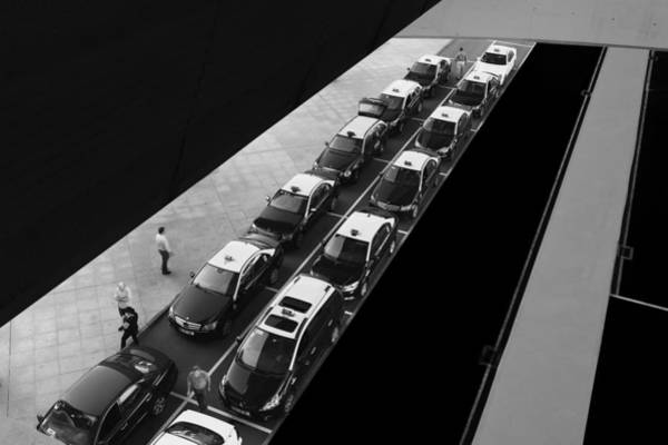 Foot Photograph - Waiting Lines by Paulo Abrantes