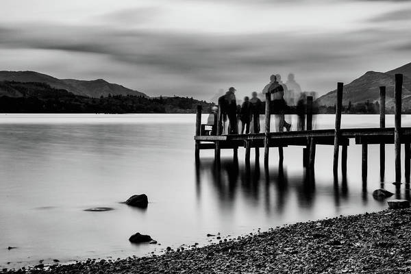 Photograph - Waiting  by Makk Black