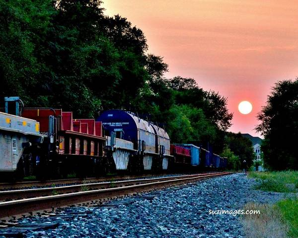 Photograph - Waiting On Trains by Susie Loechler