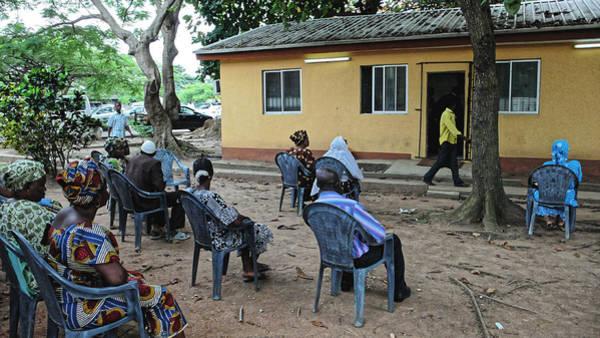 Photograph - Waiting Room, Lagos 2008 by Chris Honeyman