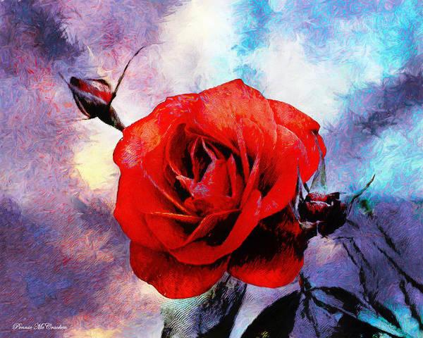 Digital Art - Waiting To Bloom by Pennie McCracken