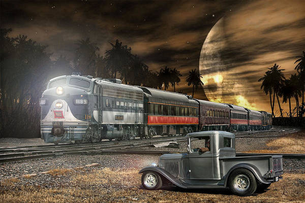 Rat Rod Studios - Waiting To Cross The Tracks ....