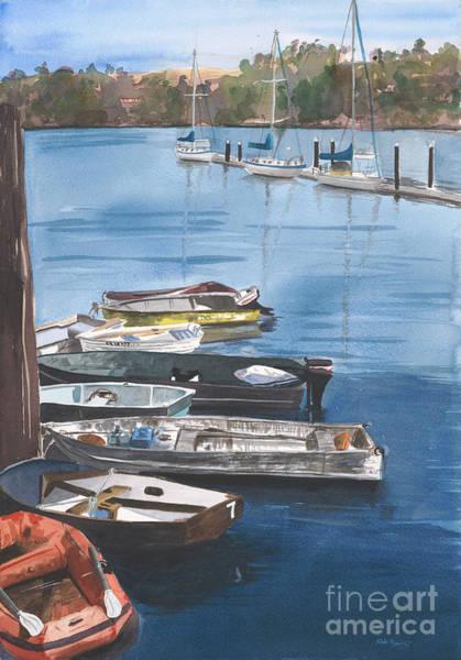 Sausalito Painting - Waiting To Sail by Kate Peper
