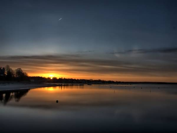 Photograph - Waking To A Cold Sunrise by Bruce Gannon