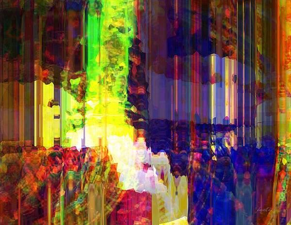 Wall Art - Mixed Media - Waking Up Happy by Fania Simon