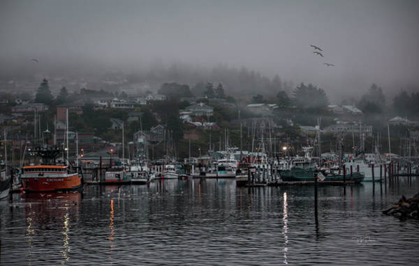 Photograph - Waking Up In A Small Coastal Town by Bill Posner