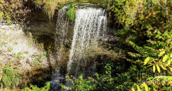 Photograph - Walcott Waterfall Panorama by William Norton