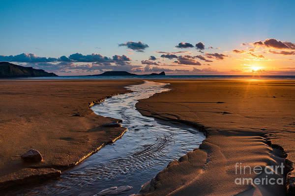 Photograph - Wales Gower Coast by Minolta D