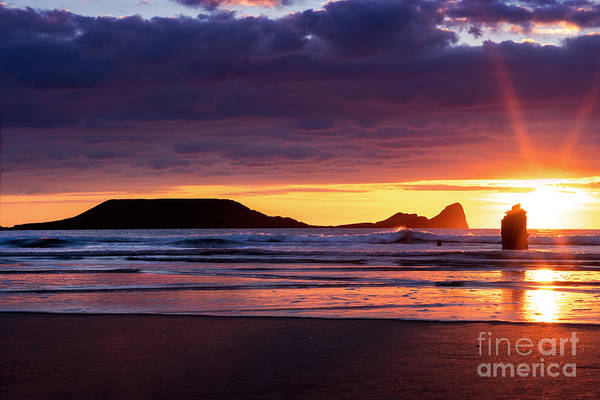 Photograph - Wales Gower Coast Helvetia by Minolta D
