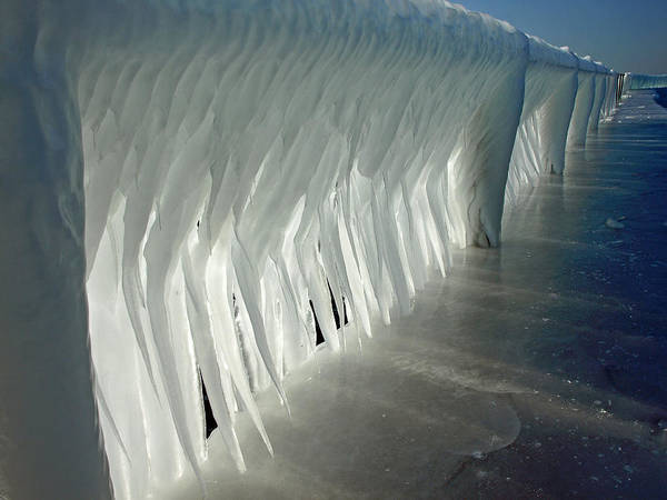 Photograph - Walk Of Ice by James Peterson