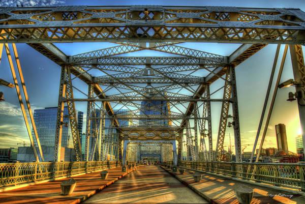 Photograph - Walk On Nashville John Seigenthaler Pedestrian Bridge Art by Reid Callaway