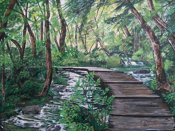 Painting - Walk On by Sharon Duguay