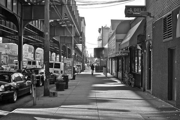 Astoria Photograph - Walk The Borough by Michael Guirguis