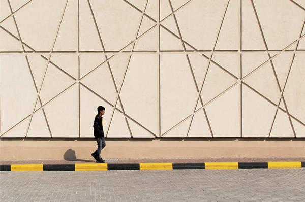 Photograph - Walk The Line by Stuart Allen