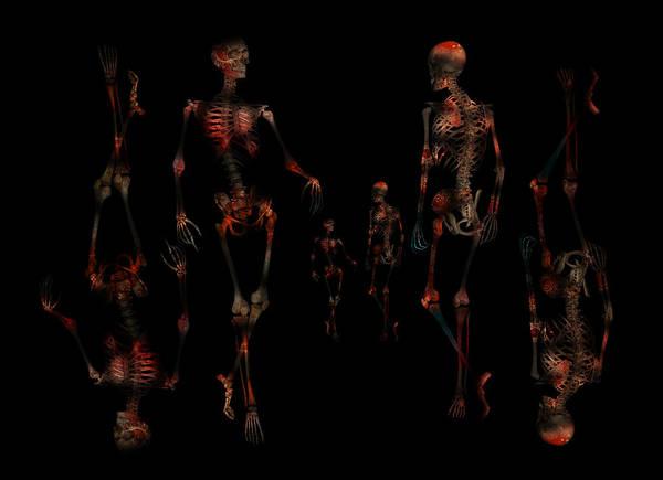 Pelvis Digital Art - Walk The Walk by Betsy Knapp