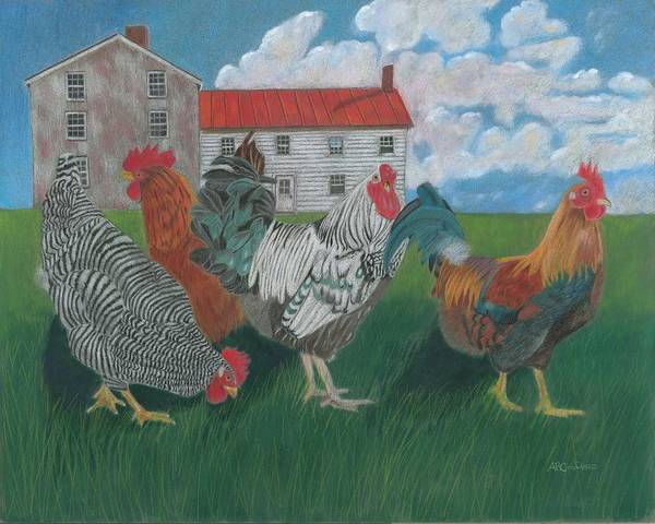 Monocacy Wall Art - Painting - Walk This Way by Arlene Crafton