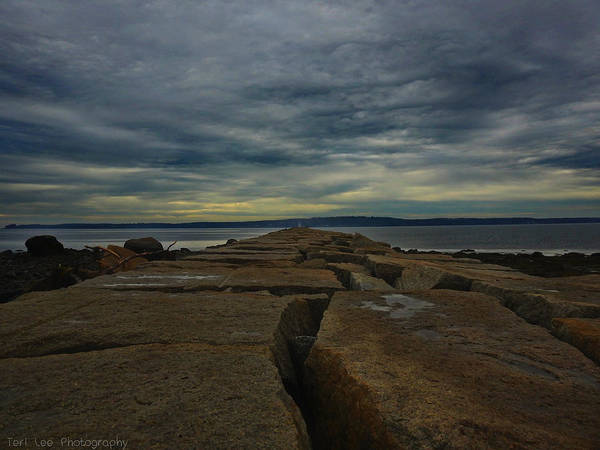 Photograph - Walk To The Sea by Teri Ridlon