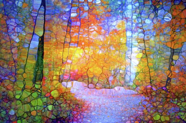 Cheery Digital Art - Walk With Me by Tara Turner