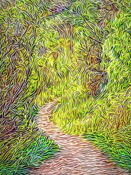 Digital Art - Walkabout Dream by Joel Bruce Wallach
