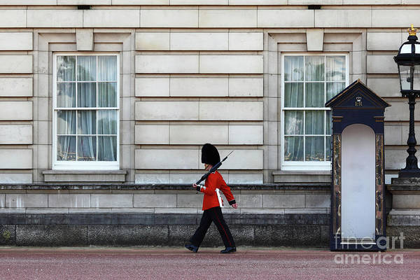 Sentry Box Photograph - Walkabout In London by James Brunker