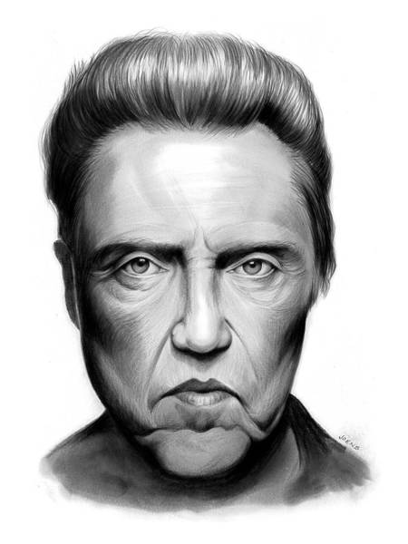 Actor Drawing - Walken by Greg Joens