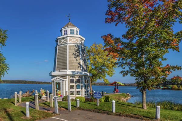 Photograph - Walker Bay Lighthouse by John M Bailey