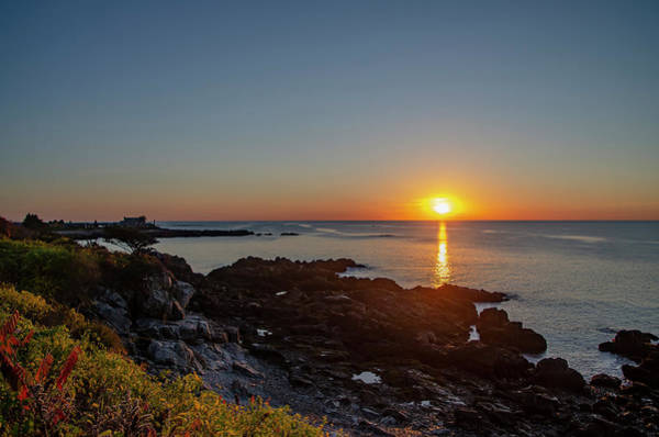 Wall Art - Photograph - Walkers Point - Sunrise In Kennebunkport Maine by Bill Cannon