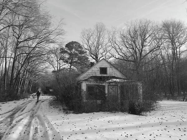 Photograph - Walking A Lonely Lane by Robert Banach