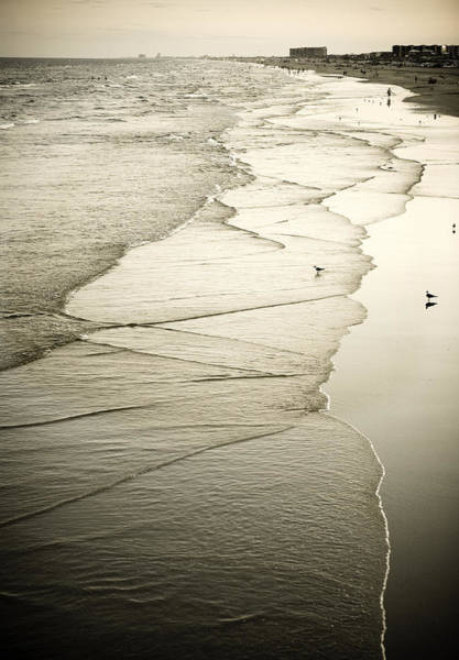 Photograph - Walking Along The Beach At Sunrise by Marilyn Hunt