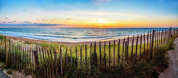 Photograph - Walking Along The Dunes by Debra and Dave Vanderlaan