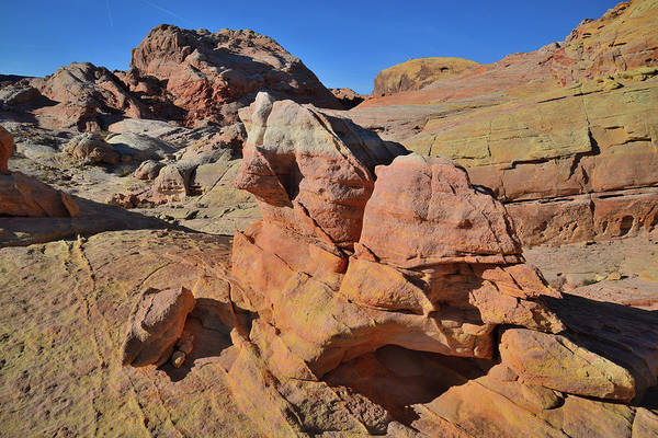 Photograph - Walking Among The Sandstone Forms Of Valley Of Fire by Ray Mathis